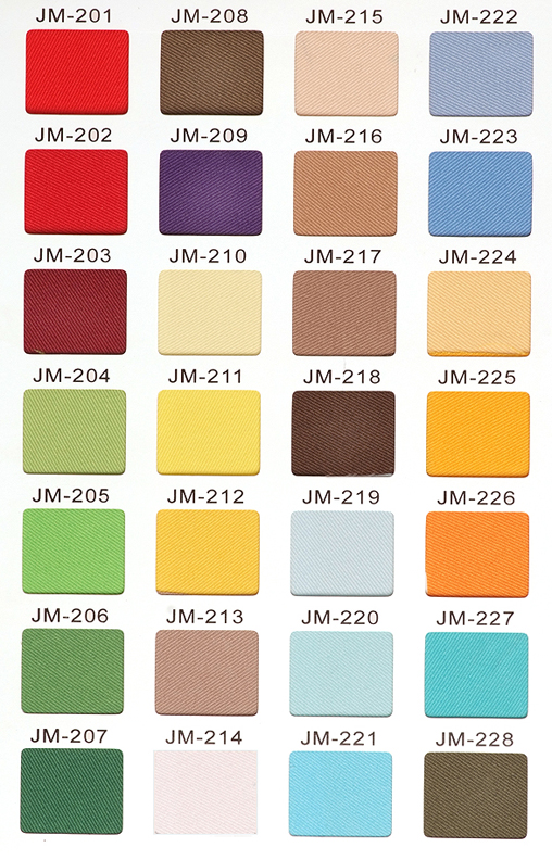 Twill Color Options